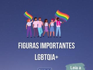 Figuras Importantes na Luta LGBTQIA+