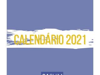 Calendário de 2021