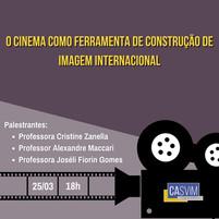 EVENTO: O Cinema como Ferramenta de Construção de Imagem Internacional