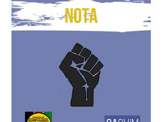NOTA COLETIVO DE ESTUDANTES NEGRXS BEATRIZ NASCIMENTO E CASViM