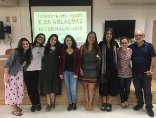 I Simpósio de Mulheres e as Relações Internacionais
