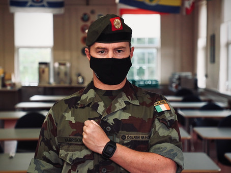 Digisoft partners with Irish Defence Forces on wearable COVID Tracker