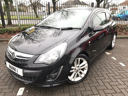 2012 (62) VAUXHALL CORSA 1.4 SRI, LOW MILES ONLY 43079 FROM NEW WITH FULL SERVIC