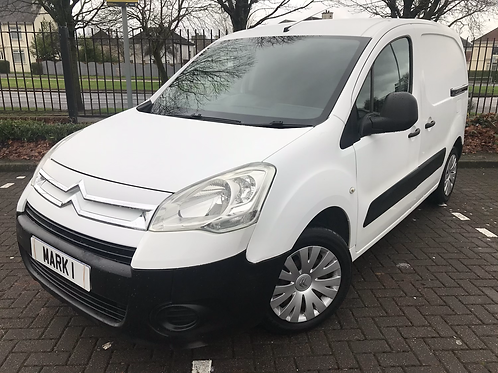 2009 CITROEN BERLINGO 625 LX 1.6 HDI, 2 KEYS, FULL YEARS MOT, ONLY 83500 MILES