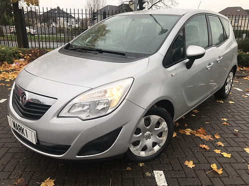 2010 VAUXHALL MERIVA EXCLUSIV 1.4 5DR, 91460 MILES FROM NEW WITH SERVICE HISTORY