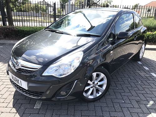2012 VAUXHALL CORSA 1.2 ACTIVE AC, ONLY 64900 MILES, FULL SERVICE HISTORY