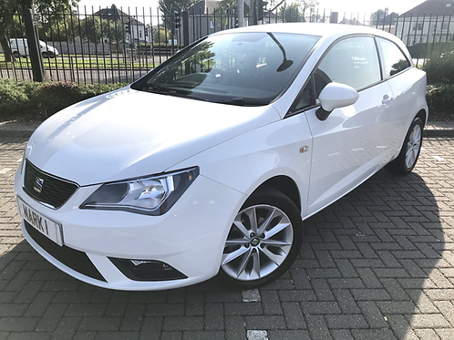 2015 SEAT IBIZA 1.4 TOCA 3DR, ONLY 53100 MILES WITH FULL SEAT SERVICE HISTORY, 2