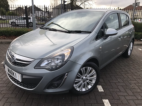 2015 (64) VAUXHALL CORSA 1.2 SE 5DR, ONLY 43949 MILES FROM NEW WITH FULL SERVICE