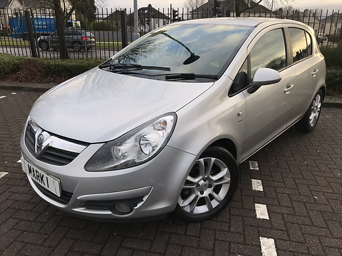 2010 VAUXHALL CORSA 1.2 SXI 5DR, ONLY 48700 MILES WITH FULL SERVICE HISTORY, 2 K