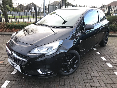 2016 VAUXHALL CORSA 1.4 SRI 3DR ECOFLEX, 2 KEYS, ONLY 40379 FROM NEW WITH SERVIC