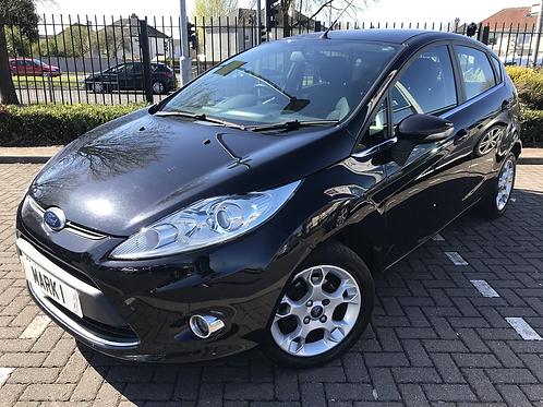 2012 FORD FIESTA1.4 ZETEC * AUTOMATIC * 5 DR, ONLY57800 MILES FROM NEW