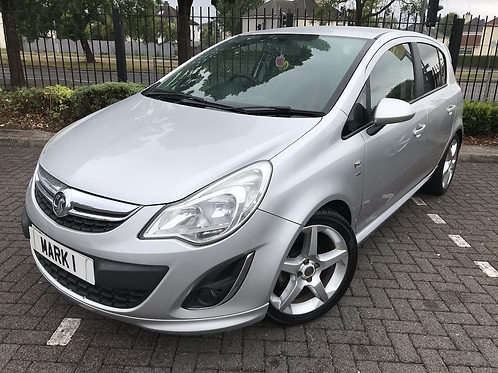 2011 VAUXHALL CORSA 1.4 SRI 5DR, LOW MILES ONLY 59600 FROM NEW WITH  SERVICE HIS