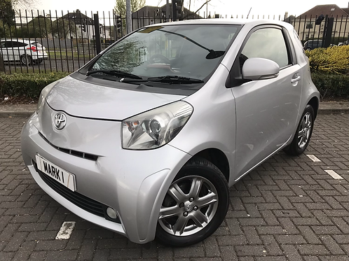 2012 TOYOTA IQ2 1.0VVT-I, ONLY 47300 MILES WITH FULL SERVICE HISTORY