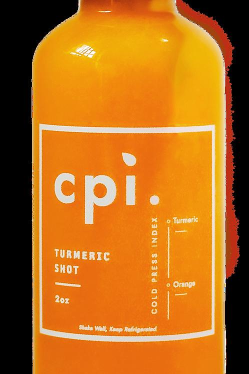 Orange Turmeric Shot