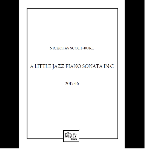 A Little Jazz Piano Sonata in C