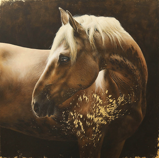 Golden Horse Limited Edition Prints