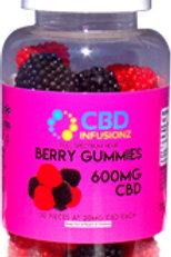600mg Berry Gummies