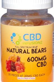 600mg real fruit natural-Bears