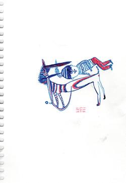 21x14,8, ink, color pen