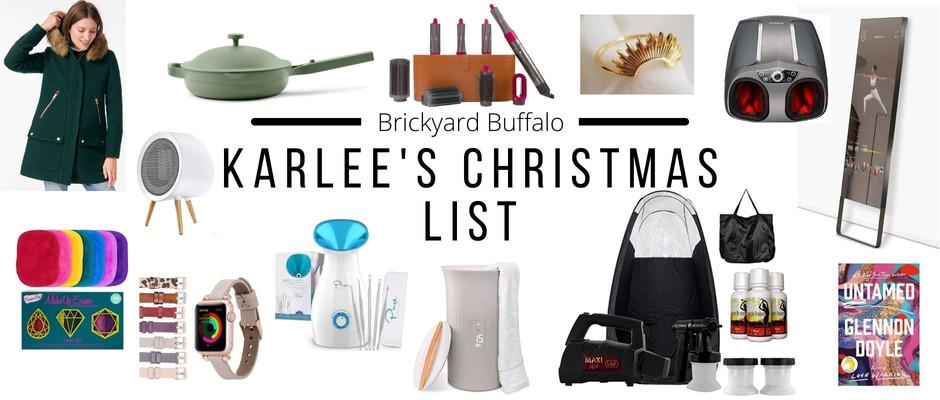 Karlee's Christmas List