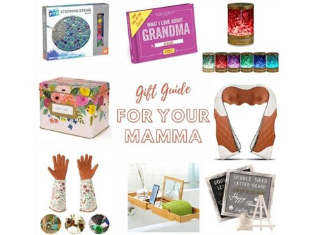 Mother's Day Gift Guide For Your Mamma!