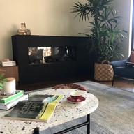 Acrylic Render Finish to Internal Fireplace