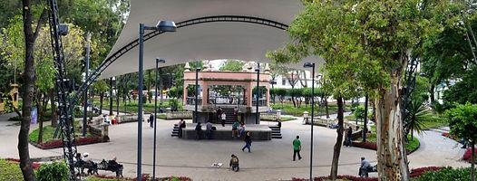 QUIOSCO AZCAPOTZALCO. Ciudad de México. Paseos Virtuales