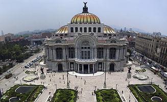 PALACIO DE LAS BELLAS ARTES. Cuauhtémoc. Ciudad de México. Paseos Virtuales
