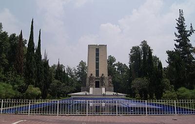 MONUMENTO AL GENERAL ÁLVARO OBREGON. Ciudad de México. Paseos Virtuales