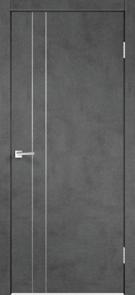 TECHNO М2  Муар темно-серый