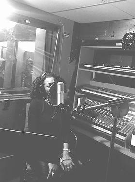 studio session, recording studio, microphone
