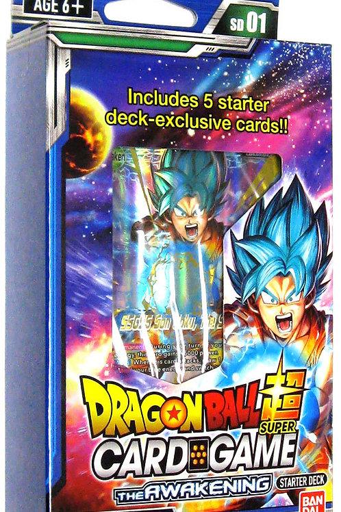 Dragon Ball Super: Galatic Battle Starter Pack - Blue