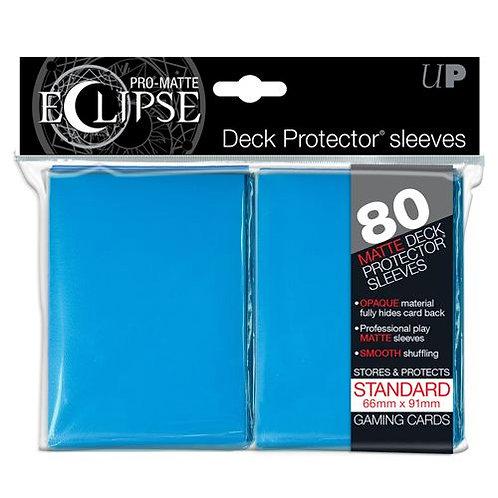 Ultra Pro Matte Eclipse - Light Blue 80 Count