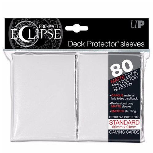 Ultra Pro Matte Eclipse - White 80 Count