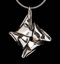 "Silver ""Knot"" Pendant"