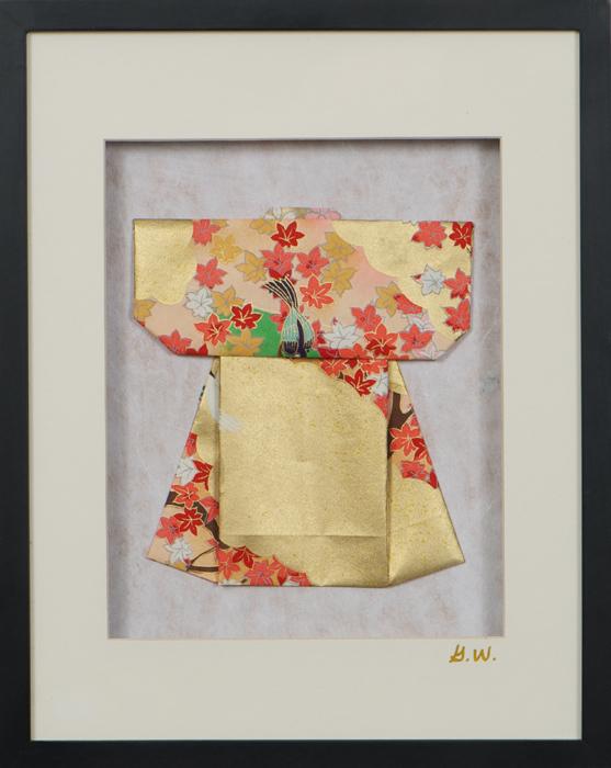 Large Kimono Shadowbox