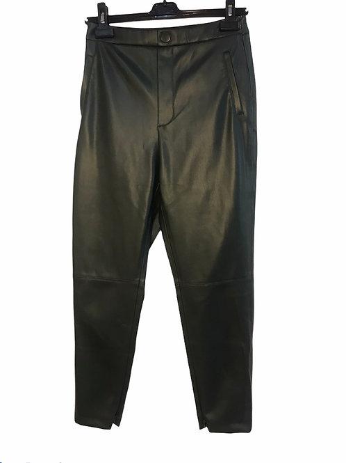 Zara Vegan Leather Pants - Size L