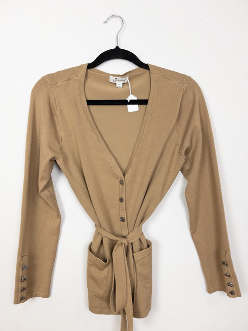 Belted Cardigan - Size M - Jessica