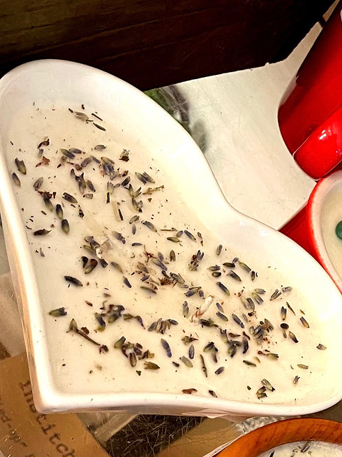 Soy Candle - lavender vanilla