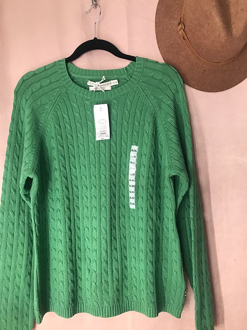 Tommy Hilfiger Ribbed Sweater- Size XL