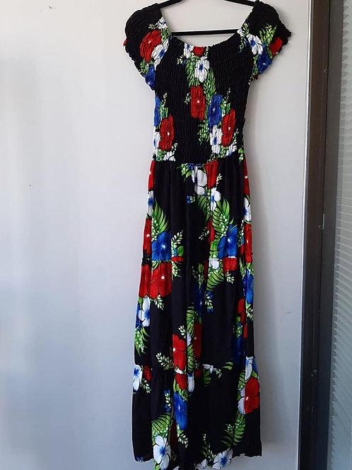 Flower Maxi Dress Size L