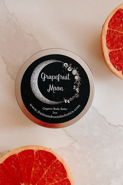 Grapefruit Moon Whipped Body Butter - Fruits & Roots Holistics