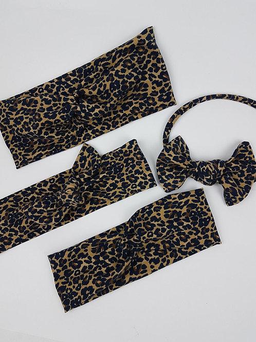 Cheetah Craze Headbands - Institches