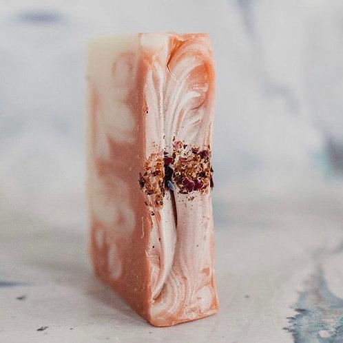 Rose Geranium Soap - Elementary Naturals