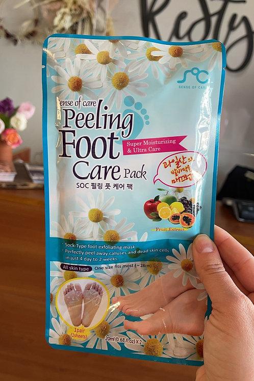 Peeling Foot Care Mask
