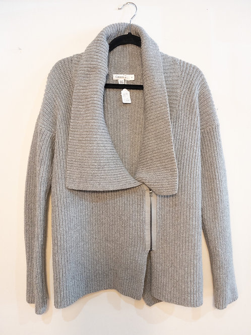 Grey Ribbed Sweater - Size M - Calvin Klein