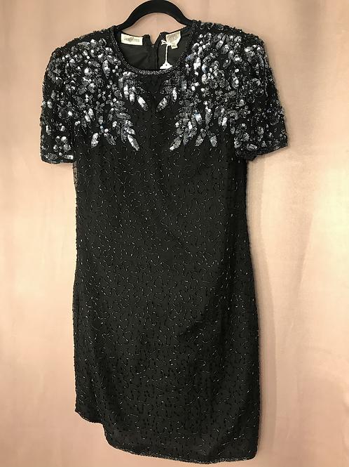 Vintage Laura Petites Silk Dress - Size M/L