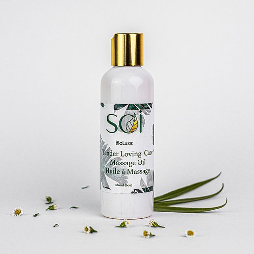 Rose Quartz Massage Oil - Soi Bio Luxe - ReStyle Exclusive