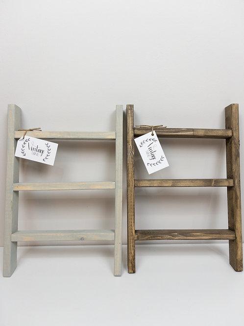 Mini Wooden Ladder - Vintage Twine