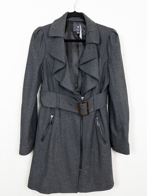 Charcoal Coat - M - Forever 21